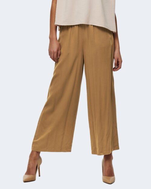 Pantaloni a palazzo Only CALY Beige scuro – 63448