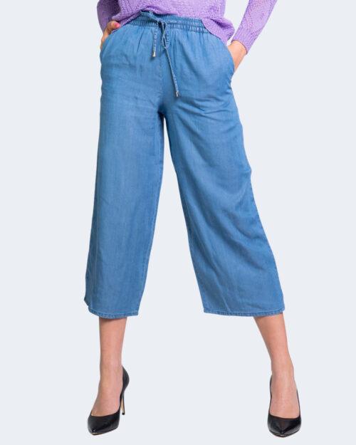 Pantaloni a palazzo Only POPPY Blue Denim – 63450