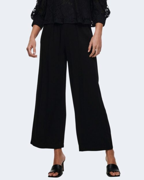 Pantaloni a palazzo Only CALY Nero – 63448