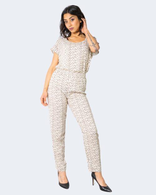 Pantaloni a sigaretta Jacqueline De Yong STAAR Crema – 63443