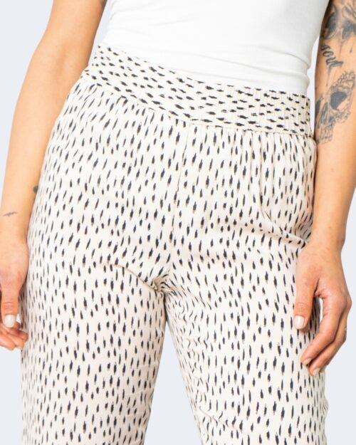 Pantaloni a sigaretta Jacqueline de Yong STAAR Crema - Foto 4