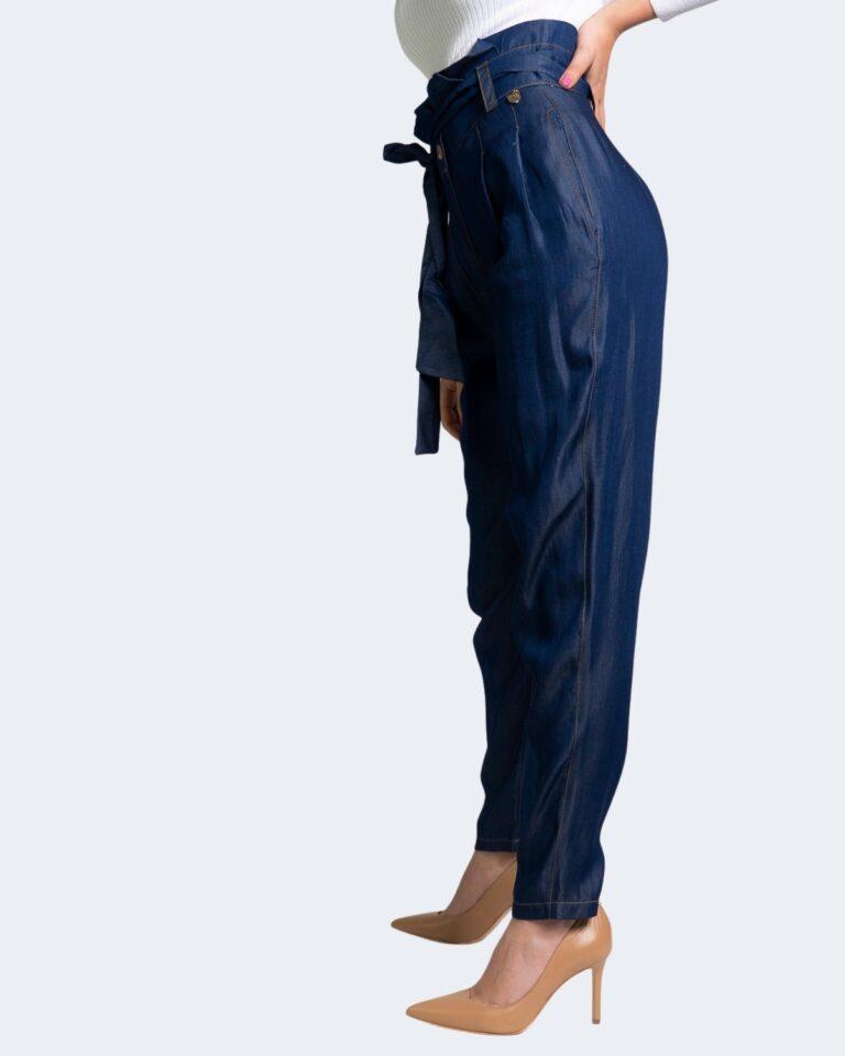 Pantaloni Akè LAMPONI Denim - Foto 2