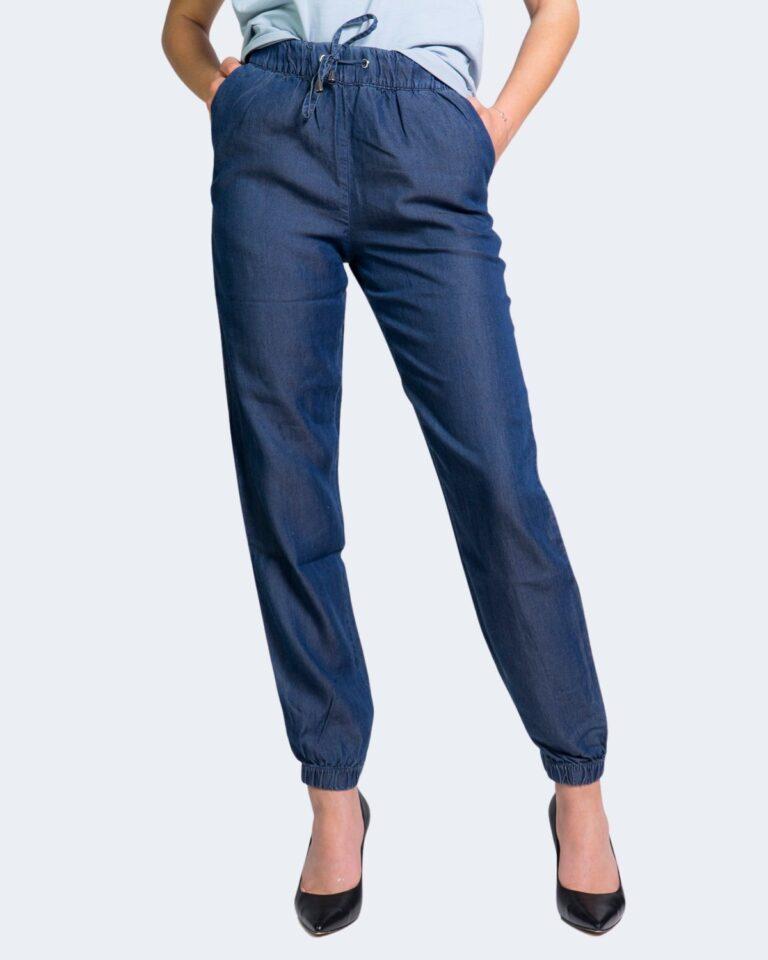 Pantaloni Only TESSA Blue Denim Scuro - Foto 1