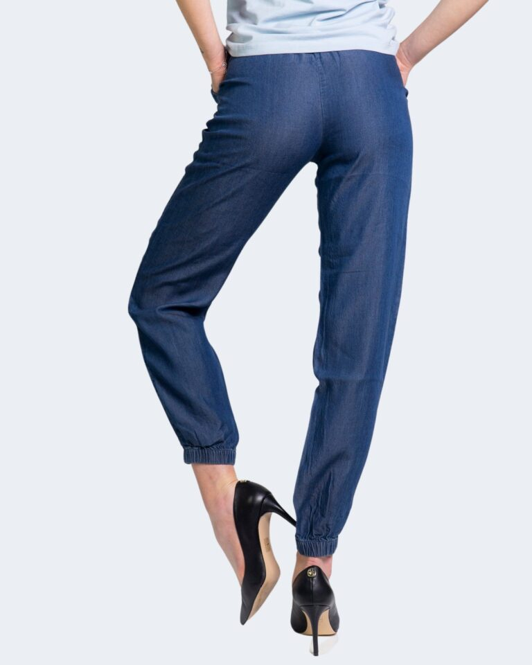 Pantaloni Only TESSA Blue Denim Scuro - Foto 3
