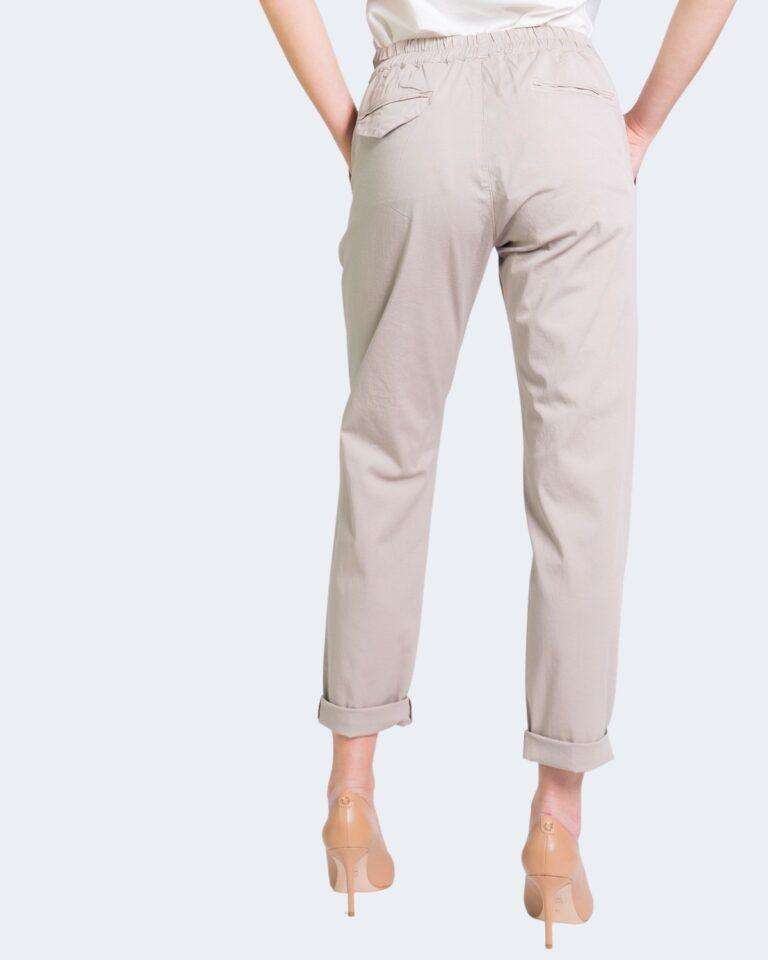 Pantaloni Sandro Ferrone WALKING Beige - Foto 3