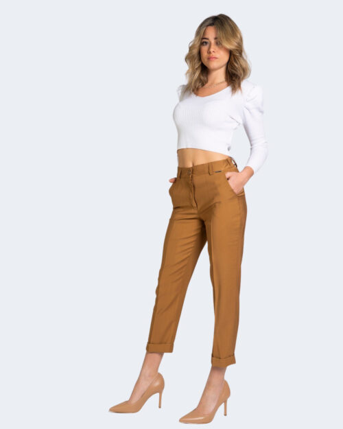 Pantaloni da completo Akè AIDI Beige scuro – 69370