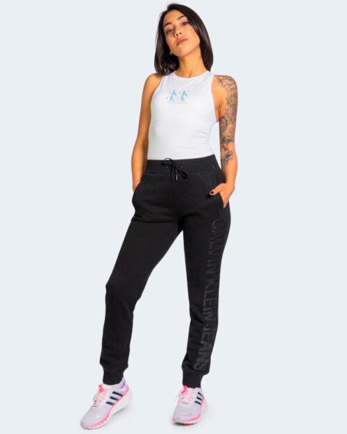 Pantaloni sportivi Calvin Klein INSTITUTIONAL LOGO Nero – 64587