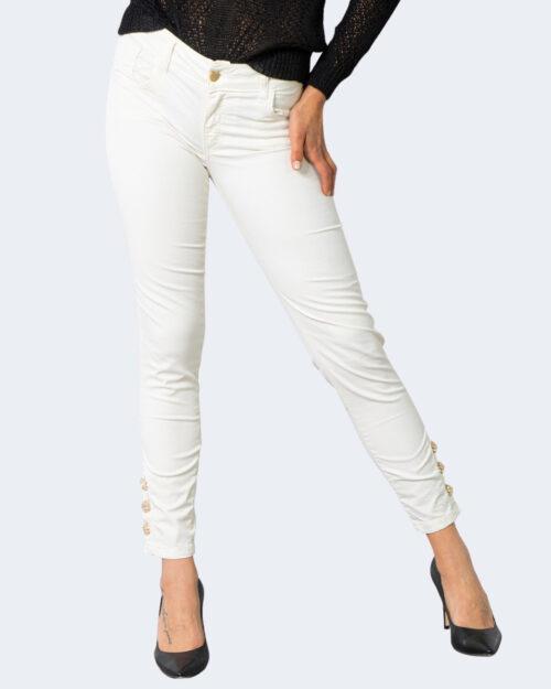 Pantaloni super skinny e skinny Sandro Ferrone JEWEL Panna – 71131