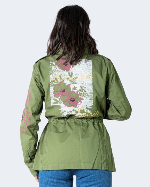 Parka Desigual Chaq Flor Verde – 62488