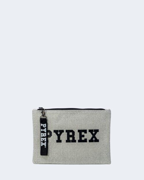 Pochette Pyrex TESSUTO LUREX Argento – 52806