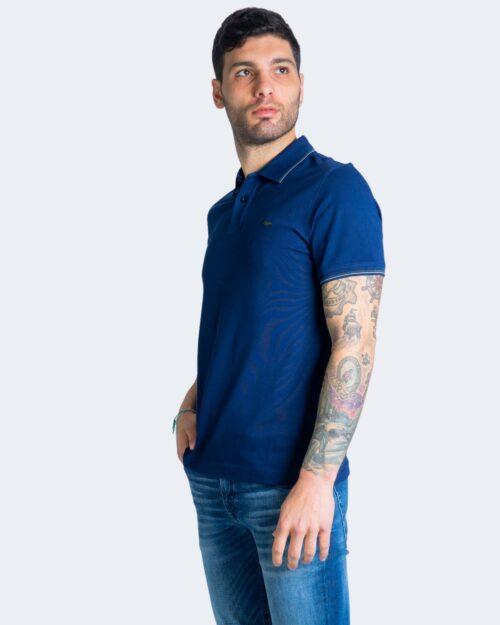 Polo manica corta Harmont&blaine DOPPIO RIGO Blu – 67797