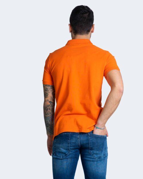 Polo manica corta U.s. Polo Assn. ISTITUTIONAL Arancione – 67804