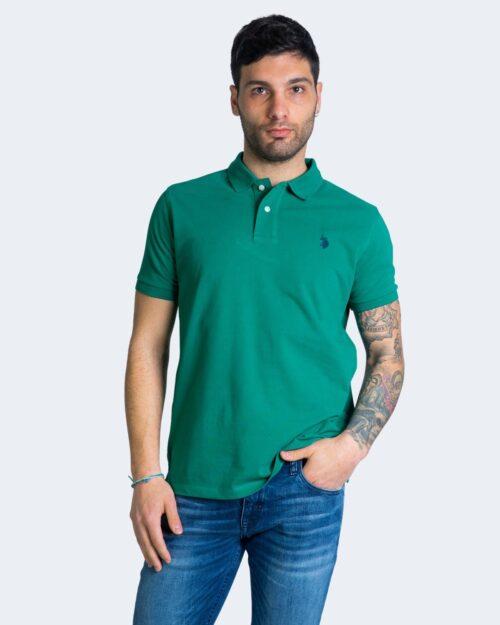 Polo manica corta U.s. Polo Assn. ISTITUTIONAL Verde – 67804