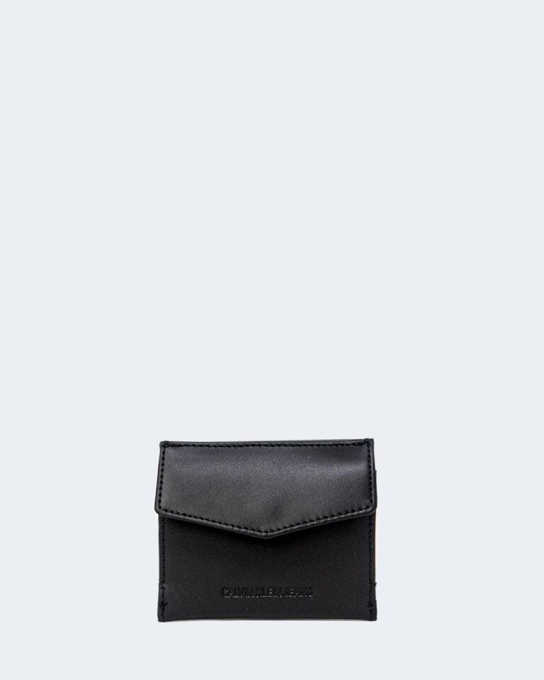 Portafoglio con portamonete Calvin Klein CARDCASE Nero - Foto 1