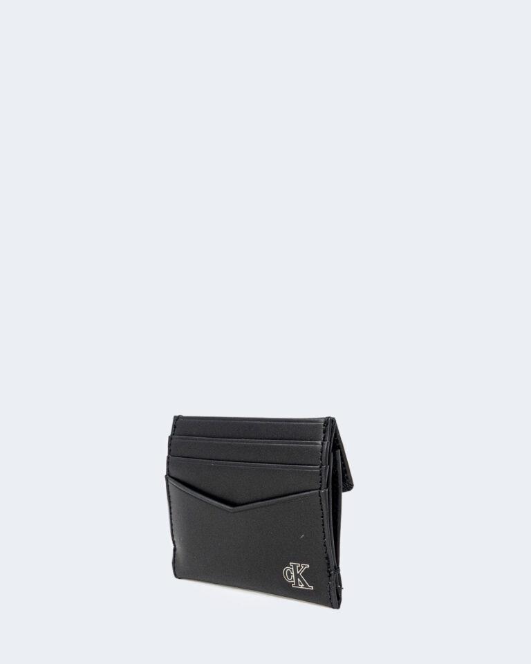 Portafoglio con portamonete Calvin Klein CARDCASE Nero - Foto 3