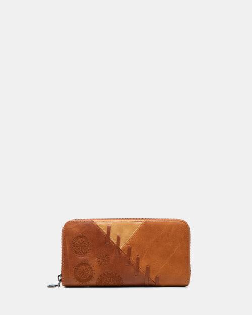 Portafoglio grande Desigual PARKER FIONA Marrone – 66024