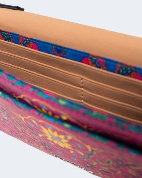 Portafoglio grande Desigual PINK BOHO Multicolor – 66034