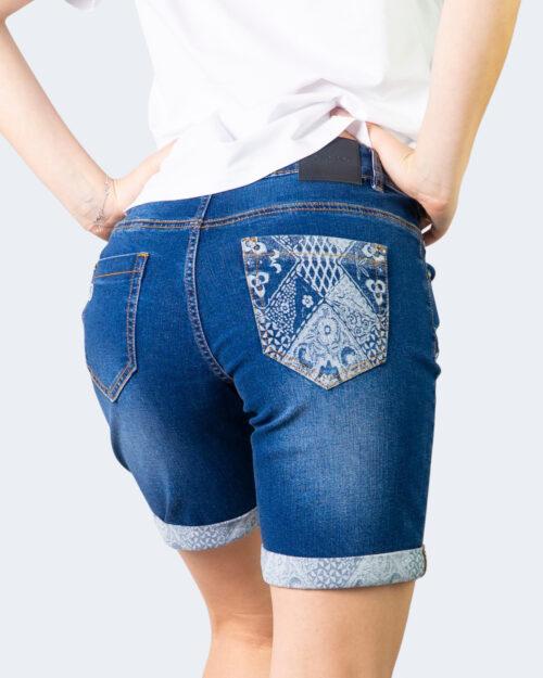 Shorts Desigual DENIM BUTTERFLY Denim scuro - Foto 3