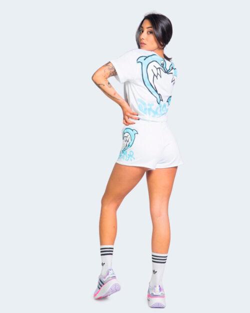 Shorts Disclaimer DELFINI LATERALE Bianco – 69289