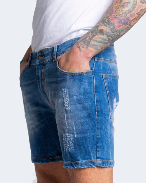 Shorts Exclusive Paris – Denim chiaro – 70305