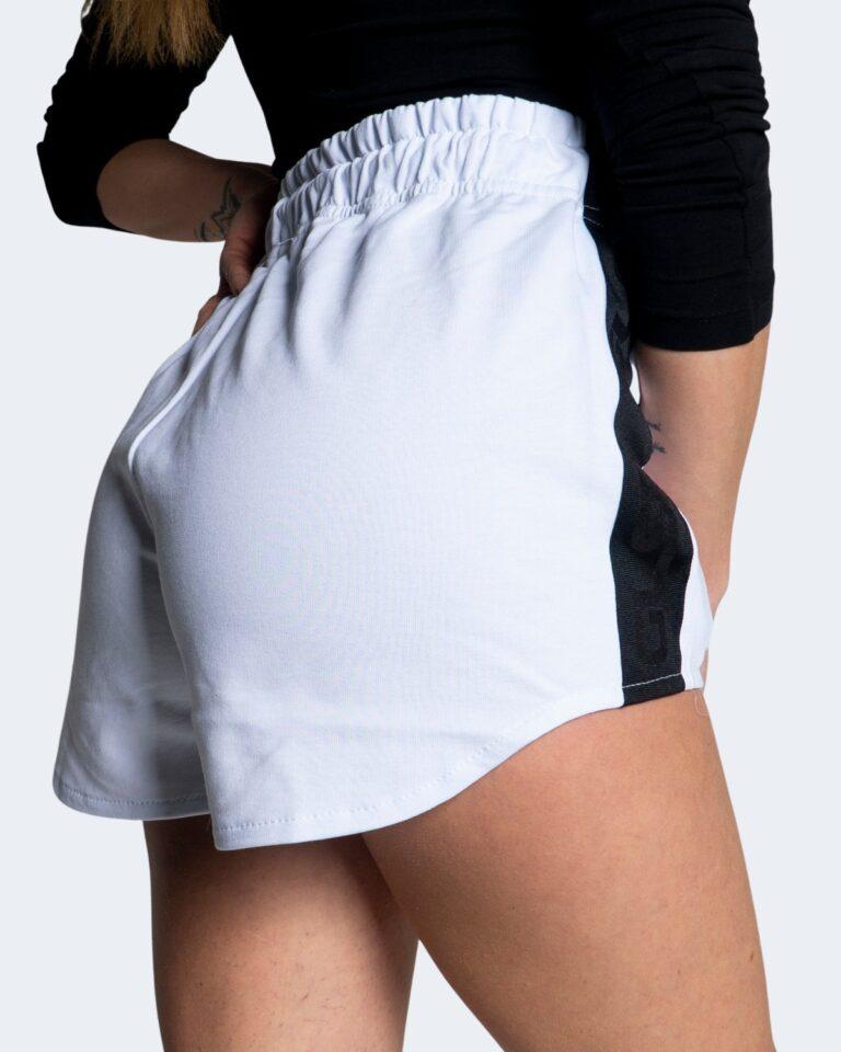 Shorts GLSR SHORTS IN TUTA LOGO PICCOLO Bianco - Foto 4