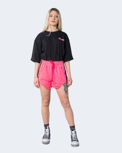 Shorts Glsr SHORTS IN TUTA LOGO PICCOLO Fuxia – 53420