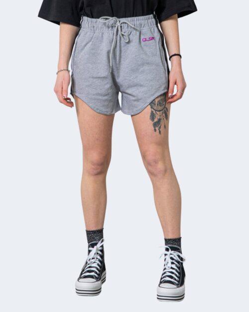 Shorts Glsr SHORTS TUTA LOGO PICCOLO Grigio – 71018