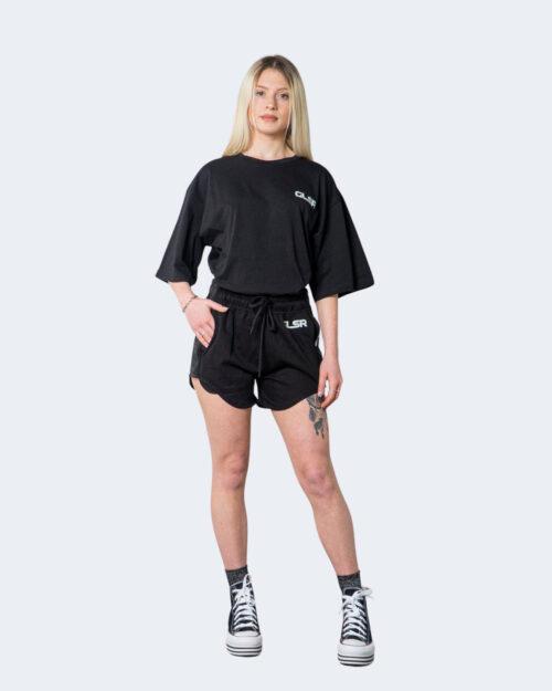 Shorts Glsr LOGO GRANDE Nero – 71019
