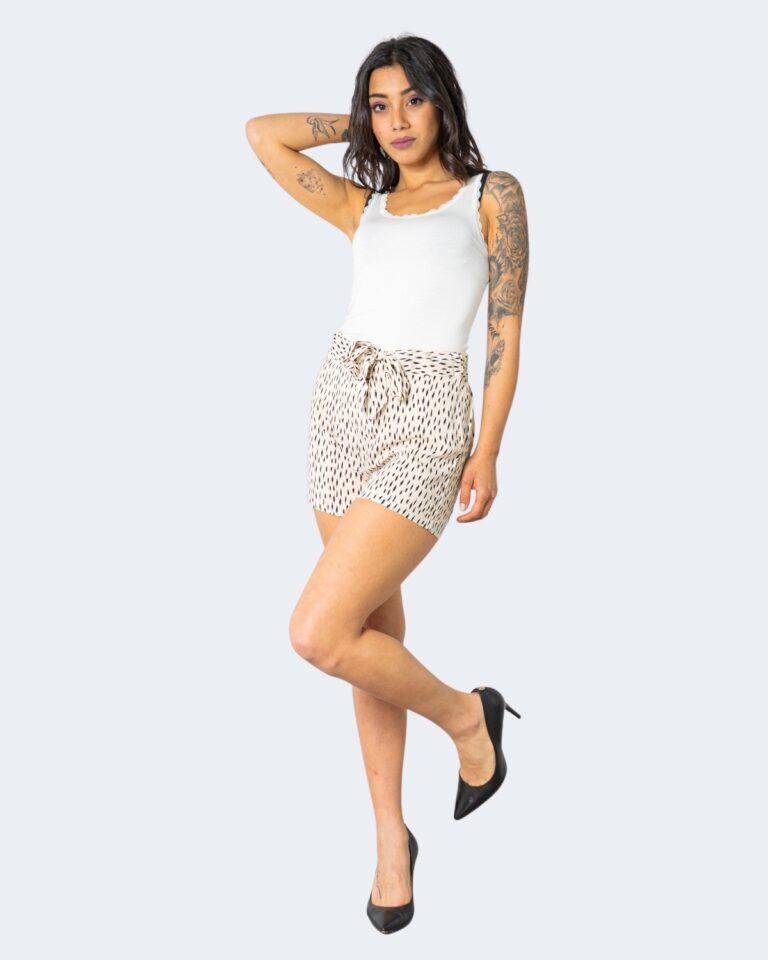 Shorts Jacqueline de Yong STAAR Crema - Foto 2