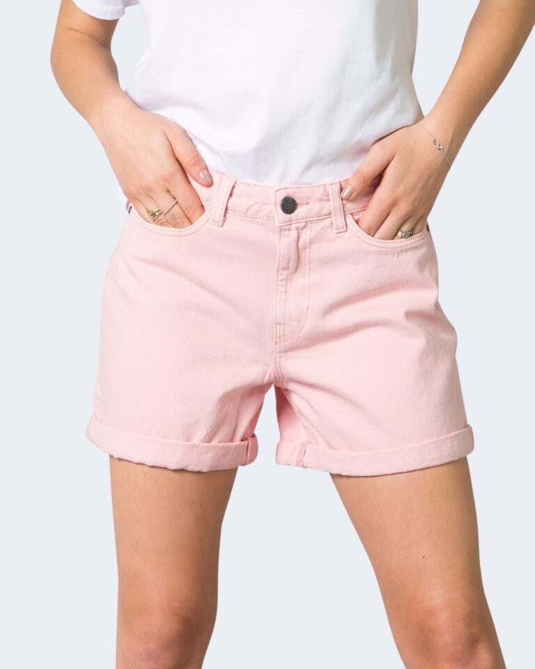 Shorts Noisy May SMILEY NW SHORTS CLR Rosa - Foto 1