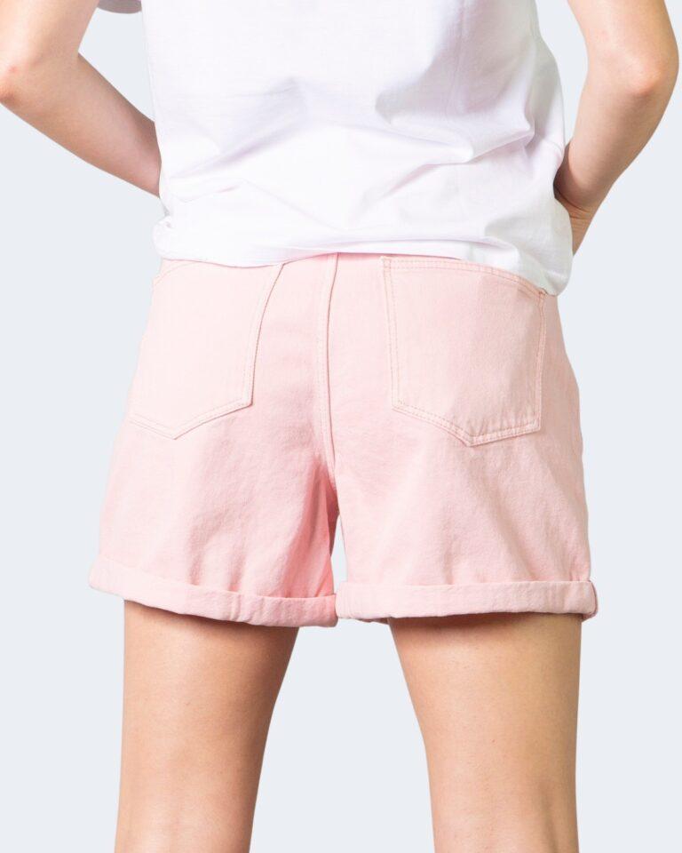 Shorts Noisy May SMILEY NW SHORTS CLR Rosa - Foto 3