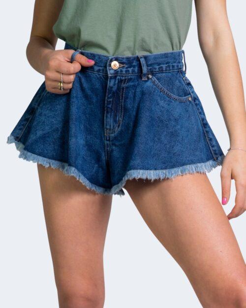 Shorts Only CHIARA Blue Denim - Foto 2