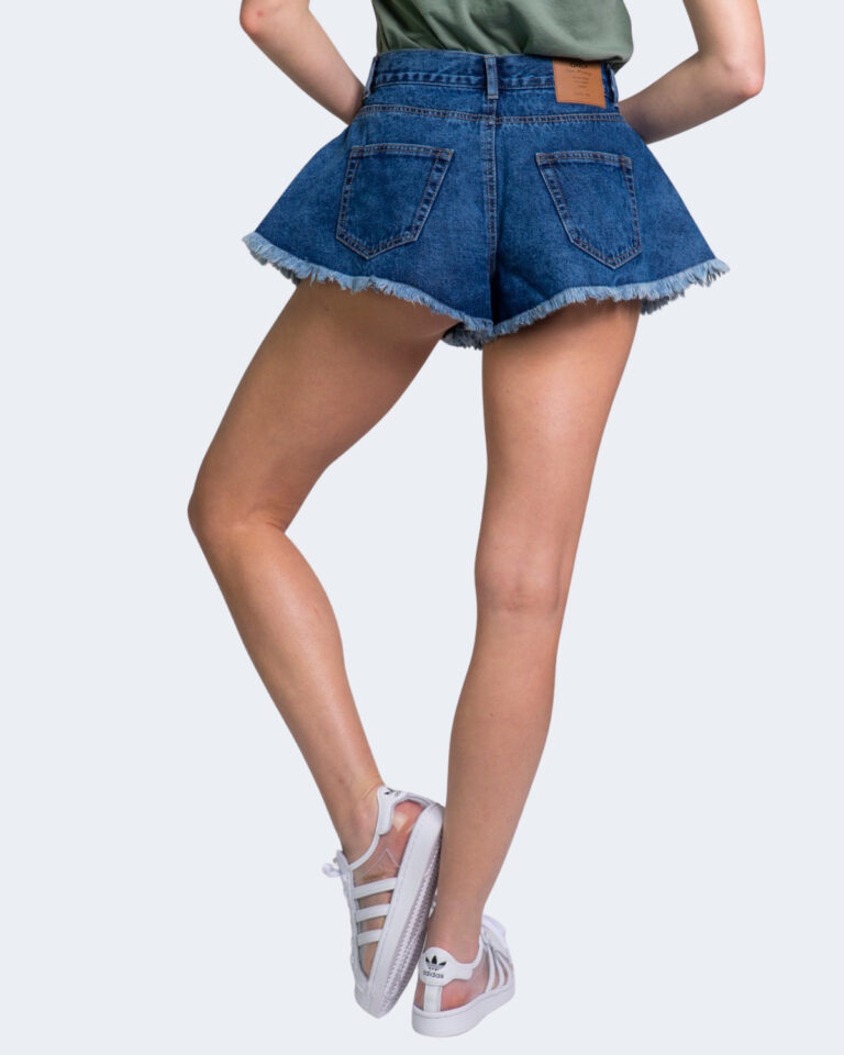 Shorts Only CHIARA Blue Denim - Foto 4