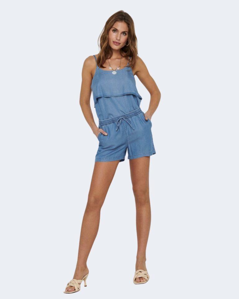 Shorts Only PEMA Blue Denim - Foto 2