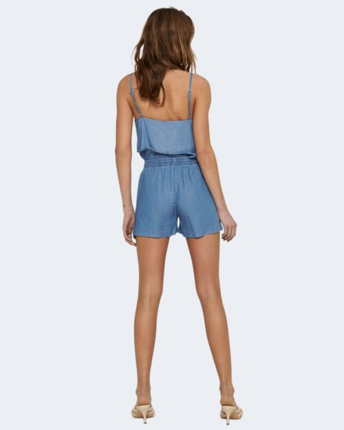 Shorts Only PEMA Blue Denim - Foto 3