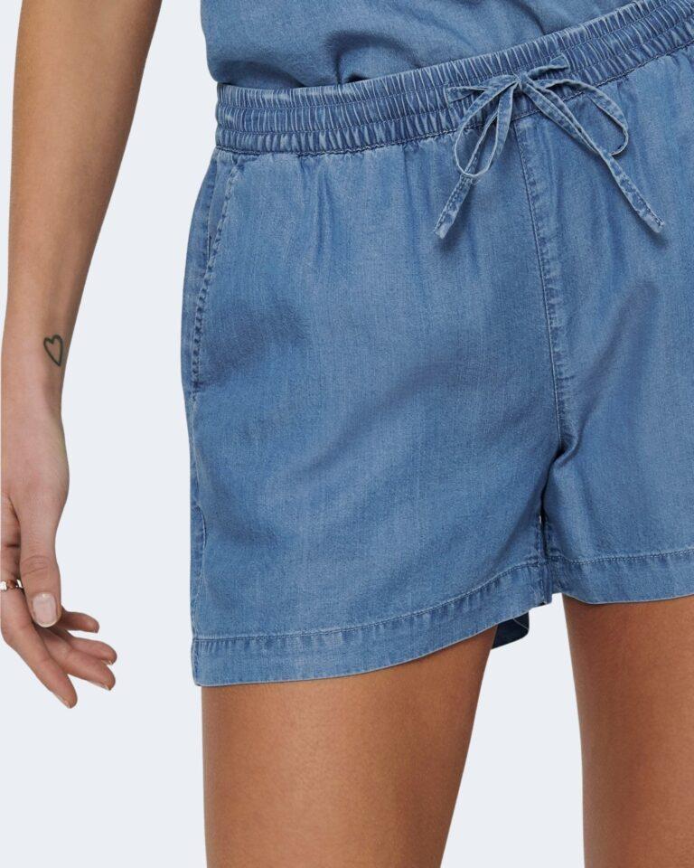 Shorts Only PEMA Blue Denim - Foto 4