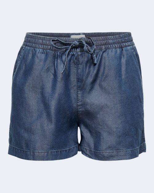 Shorts Only PEMA Blue Denim Scuro - Foto 3