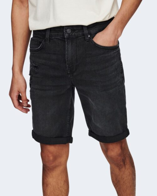Shorts Only & Sons PLY Nero – 63345