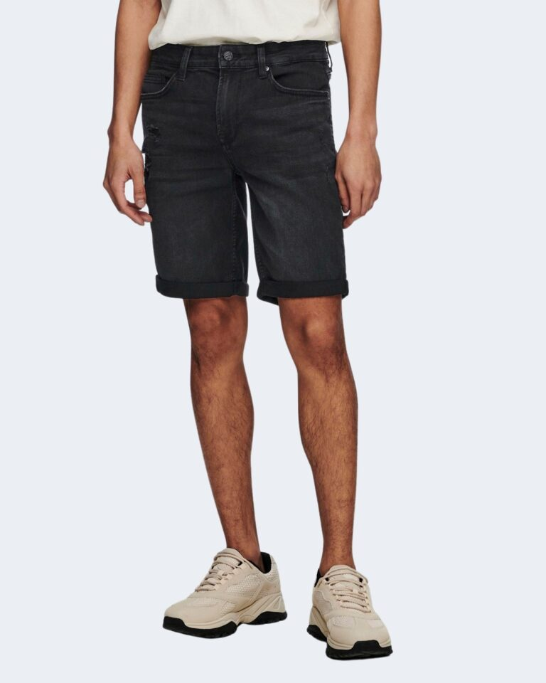 Shorts Only & Sons PLY Nero - Foto 2