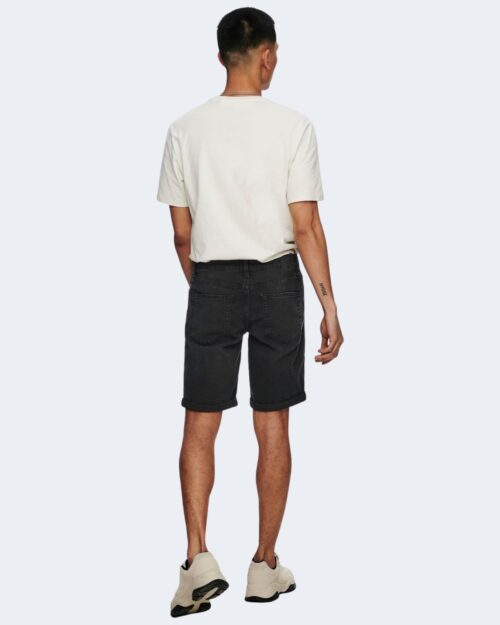 Shorts Only & Sons PLY Nero - Foto 4