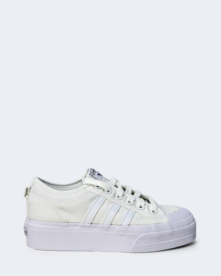 Sneakers Adidas NIZZA PLATFORM Bianco - Foto 1