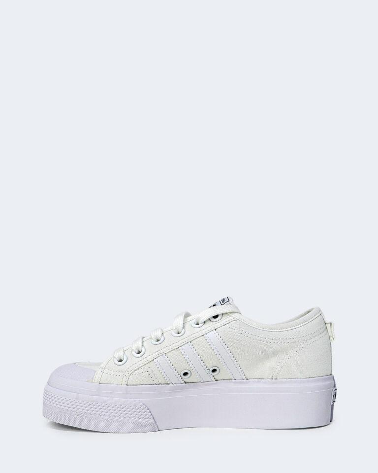 Sneakers Adidas NIZZA PLATFORM Bianco - Foto 2