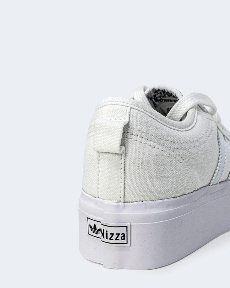 Sneakers Adidas NIZZA PLATFORM Bianco - Foto 3