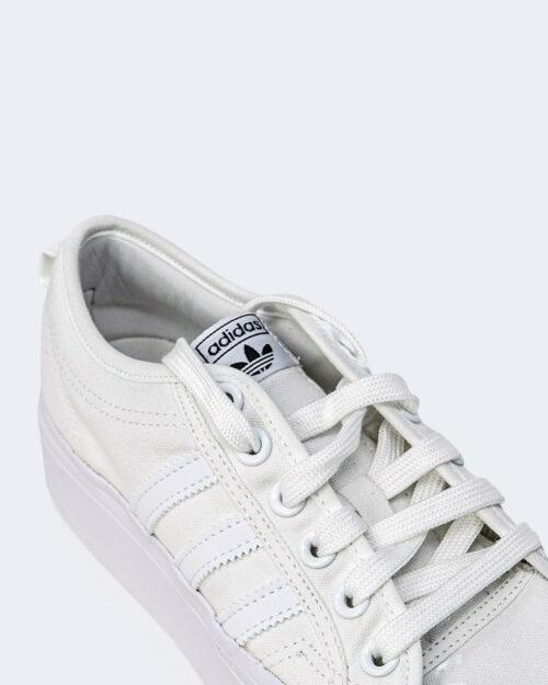 Sneakers Adidas NIZZA PLATFORM Bianco - Foto 4