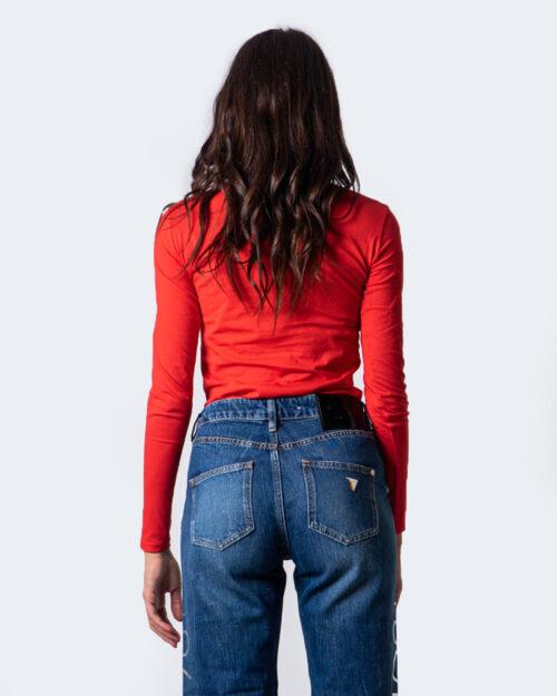 T-shirt manica lunga Guess CAMILLA Rosso – 53440