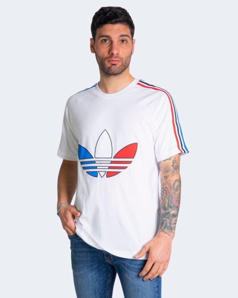 T-shirt Adidas TRICOL TEE 2 GQ89 Bianco - Foto 1
