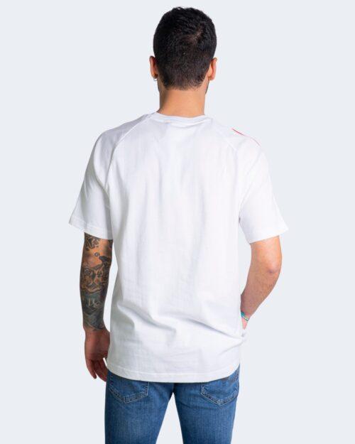 T-shirt Adidas TRICOL TEE 2 GQ89 Bianco - Foto 3