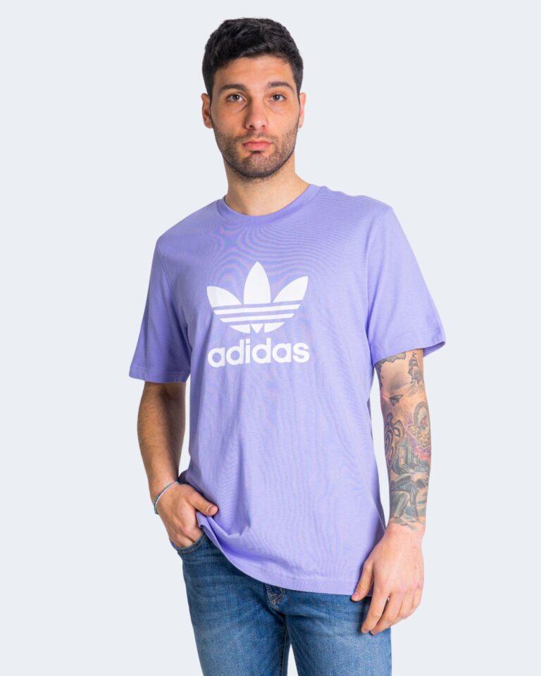 T-shirt Adidas TREFOIL Lilla - Foto 1