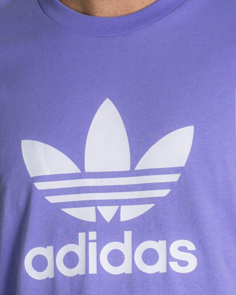 T-shirt Adidas TREFOIL Lilla - Foto 2