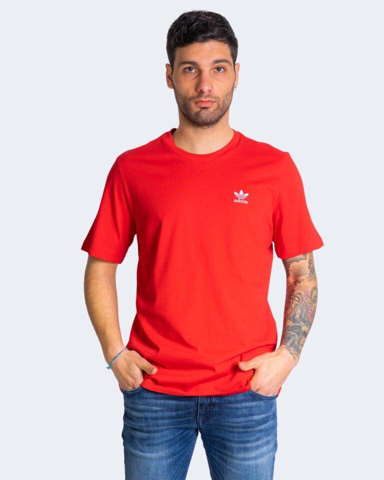 T-shirt Adidas ESSENTIAL Rosso - Foto 1